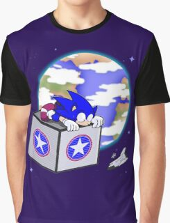 Hedgehogs in Space Graphic T-Shirt