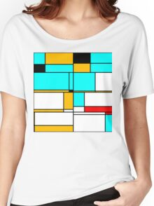 Abstract 3 Women's Relaxed Fit T-Shirt