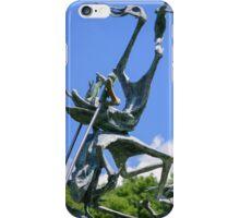 Le Rane Acrobatiche, Il Giardino di Daniel Spoerri, Seggiano, Tuscany, Italy iPhone Case/Skin