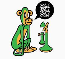 Green Monkey saying blah blah blah Unisex T-Shirt