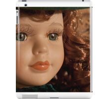 beautiful vintage scarlett o'hara toy doll iPad Case/Skin