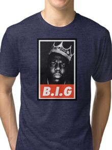 (MUSIC) Notorious Big Tri-blend T-Shirt