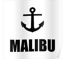 Malibu Anchor Poster