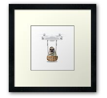 Roads? Where we're going we don't need roads Framed Print