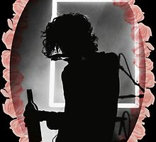 Matty Healy Floral Framed  by falloutboise