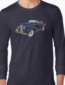 Black 1938 Cadillac Lasalle Antique Car Long Sleeve T-Shirt