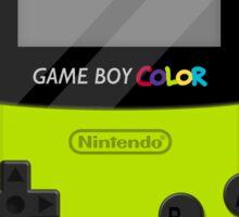 Gameboy Color 2.0 - Green Sticker