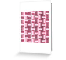 Pattern V Greeting Card