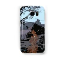 Camp Fire // Comic Style Samsung Galaxy Case/Skin