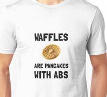 Waffles Abs Unisex T-Shirt