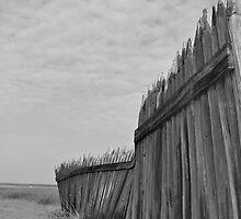 Fort Fisher Battleground Fence by FlipFlopArt
