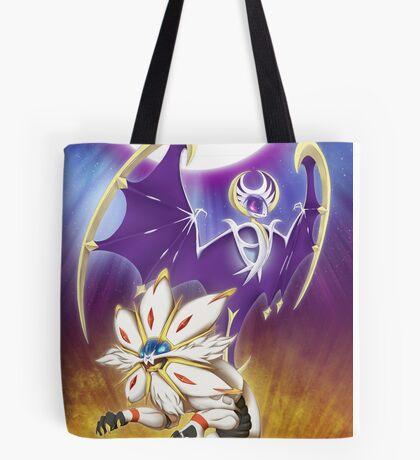 Pokemon - Solgaleo and Lunala Tote Bag