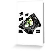 Re-Animator Greeting Card