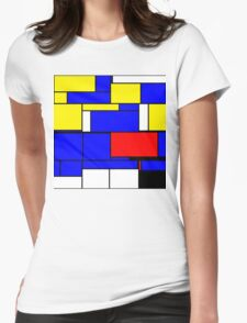Abstract 11 Womens Fitted T-Shirt
