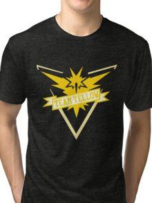 Team Yellow - Pokemon GO Tri-blend T-Shirt