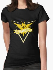 Team Yellow - Pokemon GO Womens Fitted T-Shirt