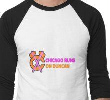 Chicago Runs on Duncan Men's Baseball ¾ T-Shirt