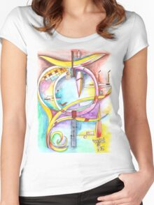 ...found your life... Women's Fitted Scoop T-Shirt