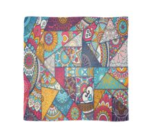 Boho Triangle Patchwork Pattern Scarf