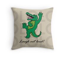 Drawstring and Tote Bags Throw Pillow