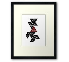 Flattened D20 - Dungeons and Dragons - Critical Role Fan Design Framed Print