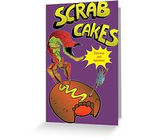 Scrab Cakes 1 Greeting Card