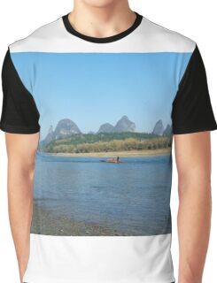 The Chinese Countryside Graphic T-Shirt