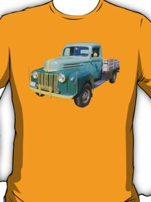 Old Flat Bed Ford Work Truck T-Shirt