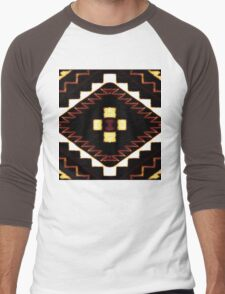 Navajo Eagle Nest Men's Baseball ¾ T-Shirt
