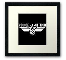 Police Officer Framed Print