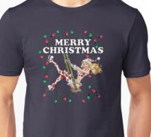 Mrs Claus -  Girl Pinup Unisex T-Shirt