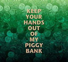 Private Property Piggy Bank by morningdance