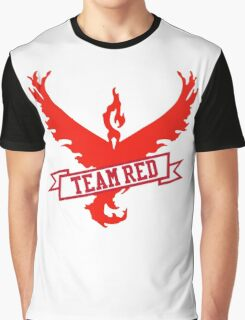 Team Red - Pokemon GO Graphic T-Shirt