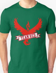 Team Red - Pokemon GO Unisex T-Shirt