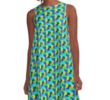 Shapes and Colours 4 A-Line Dress