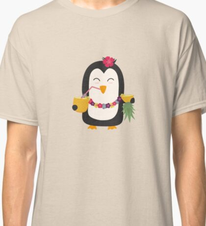Hawaii Penguin   Classic T-Shirt
