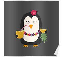 Hawaii Penguin   Poster