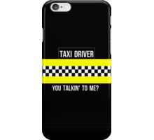Taxi Driver Robert De Niro Travis Bickle Quote Minimalist Martin Scorsese iPhone Case/Skin