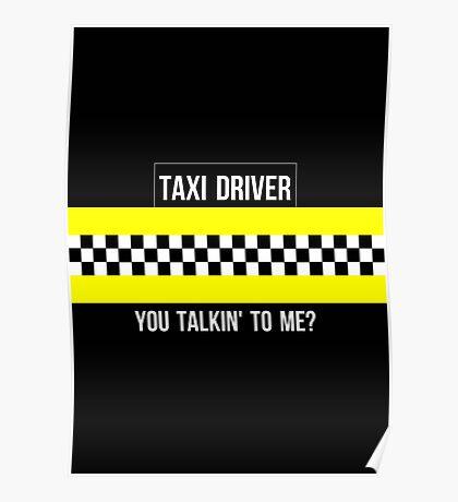 Taxi Driver Robert De Niro Travis Bickle Quote Minimalist Martin Scorsese Poster