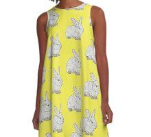 Pretty Bunny   A-Line Dress