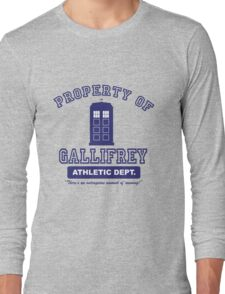 Property of Gallifrey Athletics Long Sleeve T-Shirt
