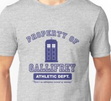 Property of Gallifrey Athletics Unisex T-Shirt