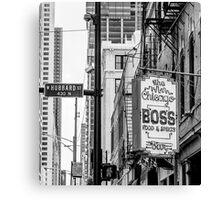 chicago boss Canvas Print