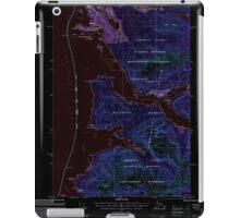 USGS TOPO Map Alaska AK Sitka B-2 359101 2000 63360 Inverted iPad Case/Skin