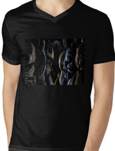 Five Nights at Freddy's 2 Gang Mens V-Neck T-Shirt