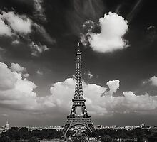 The Eiffel Tower by António Jorge Nunes