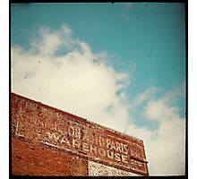 ghost sign Photographic Print