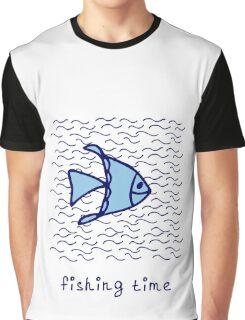 Fishing time Graphic T-Shirt