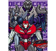 Decepticons, Rise Up! Photographic Print