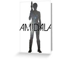 Padmé Amidala Galaxy Greeting Card